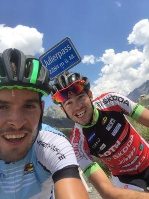 Julier Pass mit Nico Brünger