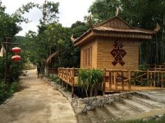 Dorf auf Hainan