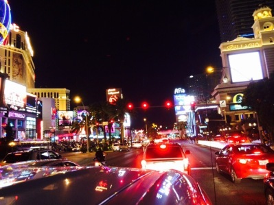 Las Vegas Blvd by night