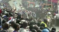 Peloton thru Kigali