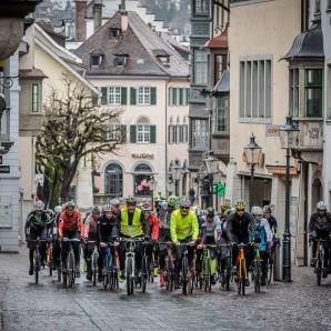 Schaffhausen after the start